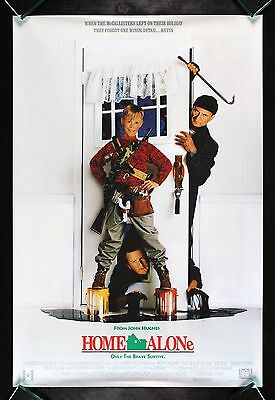HOME ALONE * CineMasterpieces 1SH CHRISTMAS MOVIE POSTER ROLLED RARE INTL DS