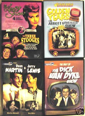 CCB;Lucy, 3 Stooges, Abbott & Costello, Dick Van Dyke, Dean Martin & Jerry Lewis