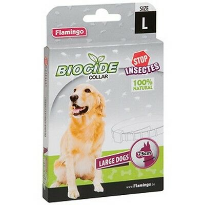 Collier Anti-Puces/antiparasitaire Grand Chien Stop Insecte