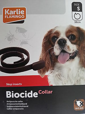 Collier Anti- Puces/Antiparasitaires  Chien Stop Insecte Biocide S