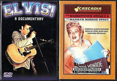 Elvis! A Documentary & Marilyn Monroe: Double Feature, 2 Separate DVDs
