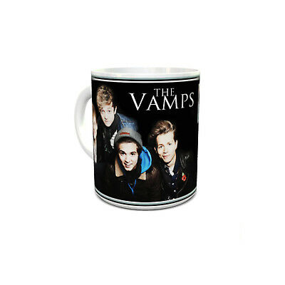 The Vamps custom printed mug personalised with your name unique unusual gift