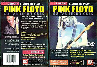 Learn to Play Pink Floyd Guitar Techniques (DVD) - David Gilmour Style