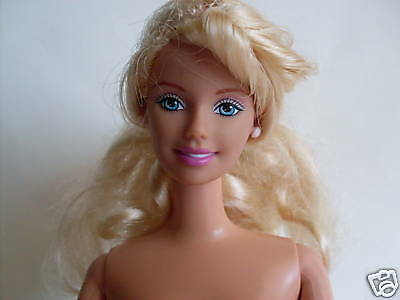 GORGEOUS BLONDE BARBIE DOLL MARKED MATTEL1966 INDONESIA