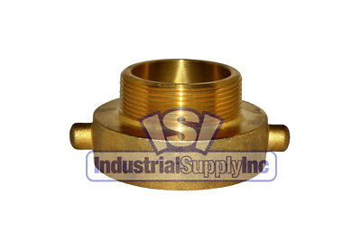 """Fire Hydrant Adapter 2-1/2"""" NST Female x 2"""" NPT Male"""