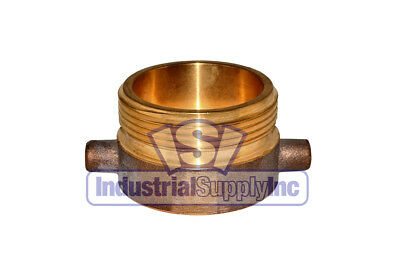"""Fire Hydrant Adapter 1-1/2"""" NST(F) x 2-1/2"""" NST(M)"""