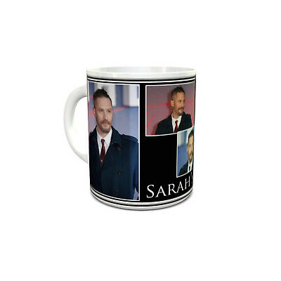 Tom Hardy custom printed mug personalised with your name unique unusual gift