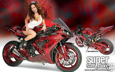 Yamaha R1 Banner Motorcycle Street R6 Sign Flag 2' x 4'