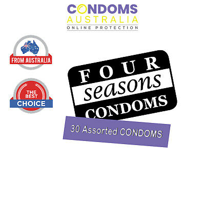 Four Seasons  Sampler Condom Pack (30 Condoms)