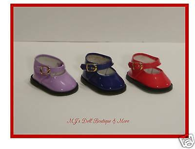 Red Patent Mary Jane Shoes fits American Girl Doll