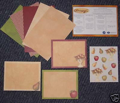 Creative Memories Country Orchard Tty Pack Bnip & Nla