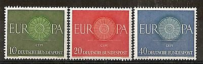 1960 Europa Germania Mnh **  - Rr5536