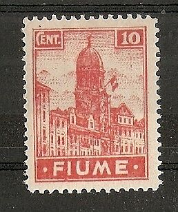 "1919 Fiume ""fiume"" 10 C Mh * - Rr6438"