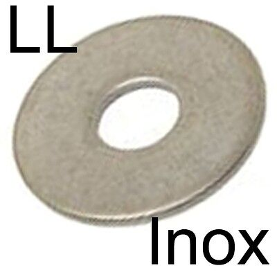 RONDELLE plate LL extra large - INOX A2 - M12 (2)