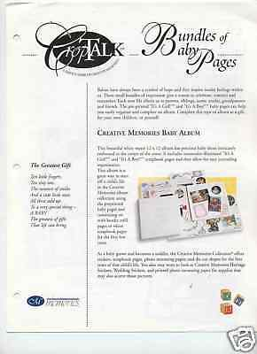 Creative Memories Croptalk#24 Bundles Of Baby Pages 99