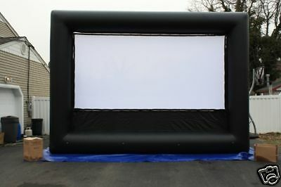 DELUXE 16X9 VBI inflatable movie screen / BLOWER  INCLUDED