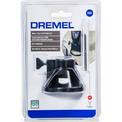 Dremel 566 Wall Tile Cutting Kit With Dremel 562 Drill Bit by tyzacktools