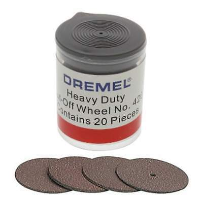 Dremel 420 Cut Off Wheel Pack of 20 by tyzacktools