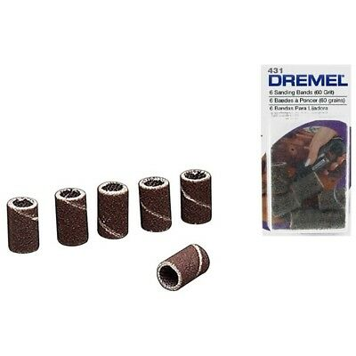 Dremel 431 Sanding Band for 430 Course 60 Grit Pack of 6 by tyzacktools
