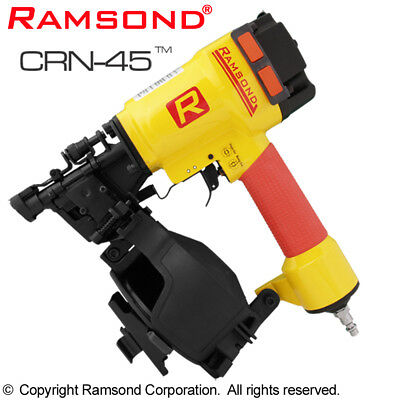 New Ramsond Crn-45 Air Coil Roof Roofing Nailer Gun