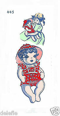 445 Design Soft Doll Pattern & Clothes Mail Order 3 dimensional doll