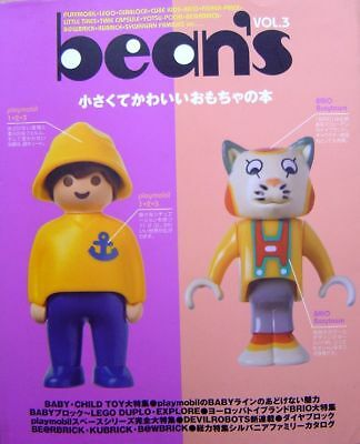 bean's Vol.3 /Japanese Miniature Toy Doll Book