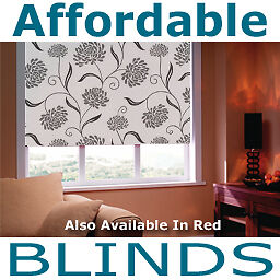 Made To Measure Blinds Crysanth Silver Thermal Blackout
