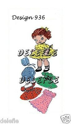 936 Vintage Soft Rag Doll Pattern & Clothes Mail Order 9 inch
