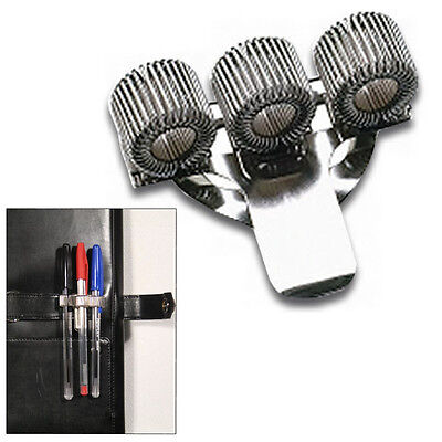 E14 Three Pen holder with pocket clip nurses doctors