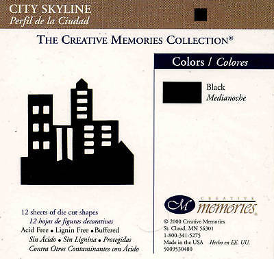 Creative Memories City Skyline Die Cut Bn & Nla
