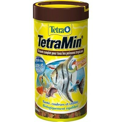NOURRITURE TETRAMIN FLOCON 250ML 52Gr filtre aquarium
