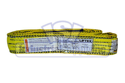 EE2-902-14ft Nylon Lifting Tow Strap Sling