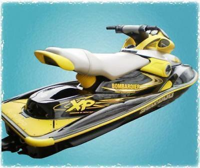 SEAT COVER 97-04 SeaDoo XP Any Single Color