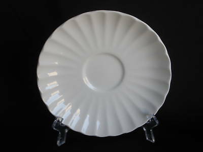 J&G Meakin Classic White Saucer