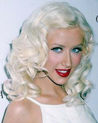 Christina Aguilera 8 X 10 Color Photograph