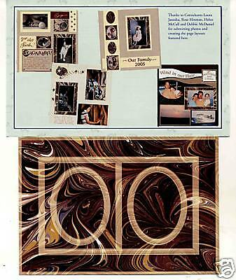 Creative Memories Tty Frames#1 Page Completion Kit Bnip