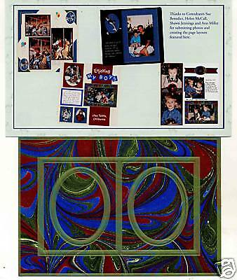 Creative Memories Tty Frames#2 Page Completion Kit Bnip