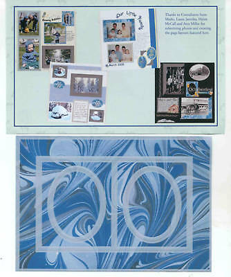 Creative Memories Tty Frames#3 Page Completion Kit Bnip