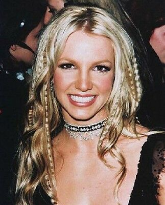 Britney Spears 8 X 10 Color Photograph