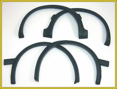 Vw Golf Ii Mk2 87-91 Wing Wheel Arch Moulding Trim Set Left + Right Front + Rear