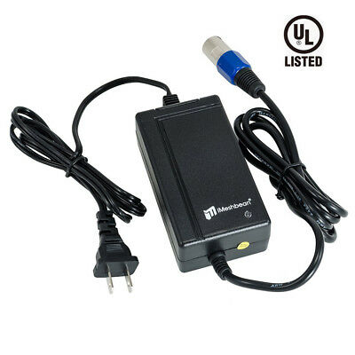 New Go-Go Go-Chair scooter battery XLR charger 24V 2A