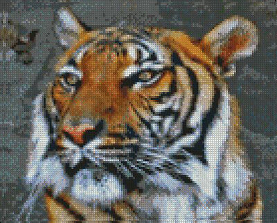 "Siberian Tiger Counted Cross Stitch Kit 10/"" x 11.5/"" 25.6cm x 29cm A2127"