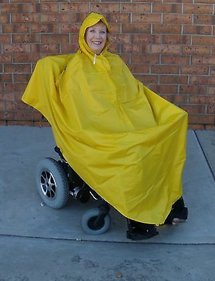Rain Poncho -Scooter, Bike, Wet Weather, Watching Sport