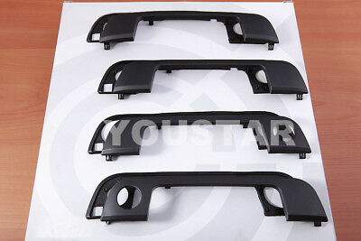 x4 Exterior Door Handle Cover Trims with Gaskets for BMW 3 5 Series E36 E34 h17