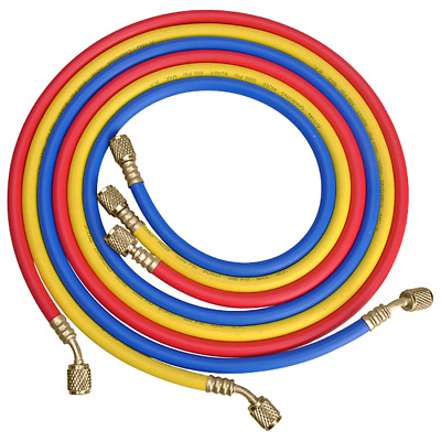 Actecmax Refrigerant Refrigeration Charging Hose Set 900Mm 900Set