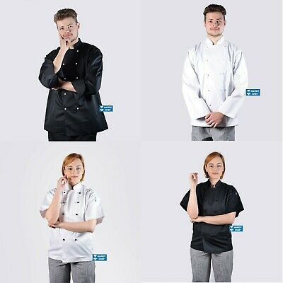 Chef Jackets - Most Durable Chef Jackets - Black Jackets, White Jackets