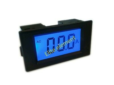 AC 0-50A Digital Ammeter AMP Meter With Current Transformer Mutual Inductor MZ