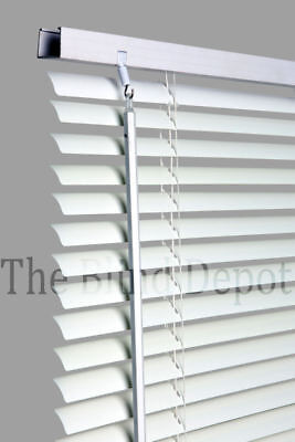 New WHITE Pvc Venetian Venitian Blind Blinds, 10 Sizes In Stock