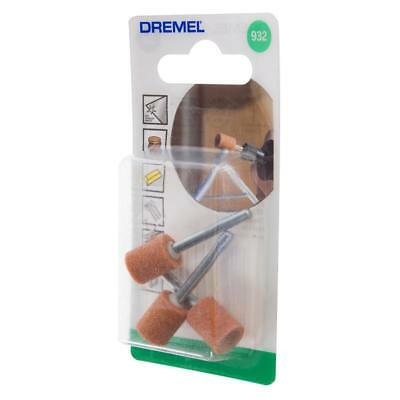 Dremel 932 Aluminum Oxide Grinding Stone 9.5mm Pack of 3 by tyzacktools