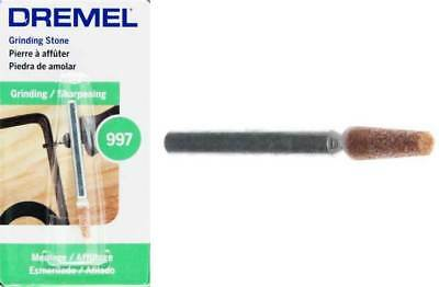Dremel 997 Aluminum Oxide Grinding Stone 3.4mm Pack of 3 by tyzacktools